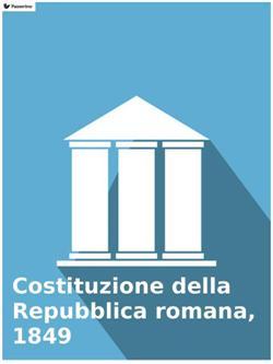 Costituzione della Repubblica romana, 1849