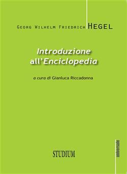 "Introduzione all'""Enciclopedia"". Testo tedesco a fronte. Ediz. bilingue"