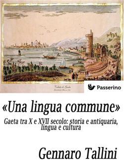 """Una lingua commune"". Gaeta tra X e XVII secolo: storia e antiquaria, lingua e cultura"