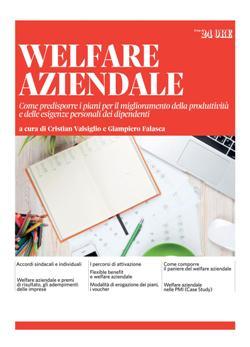 Welfare aziendale. Come predisporre i piani per il miglioramento della produttività e delle esigenze personali dei dipendenti