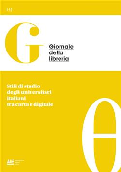 Stili di studio degli universitari italiani tra carta e digitale