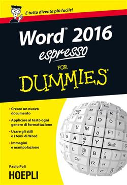 Word 2016 espresso for dummies