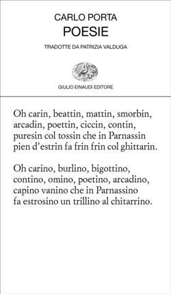 Poesie. Testo milanese a fronte