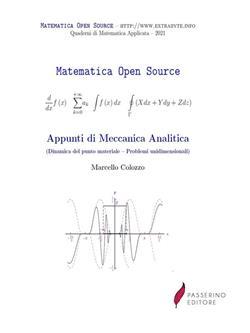 Appunti di meccanica analitica (Dinamica del punto materiale - Problemi unidimensionali)