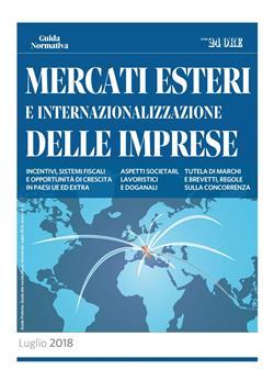 Mercati esteri e internazionalizzazione delle imprese