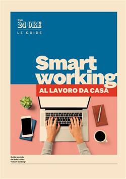 Smart working. Al lavoro da casa