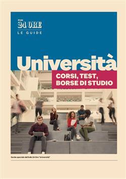 Università. Corsi, test, borse di studio
