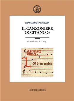 Il canzoniere occitano G (Ambrosiano R 71 sup.)