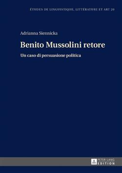 Benito Mussolini retore